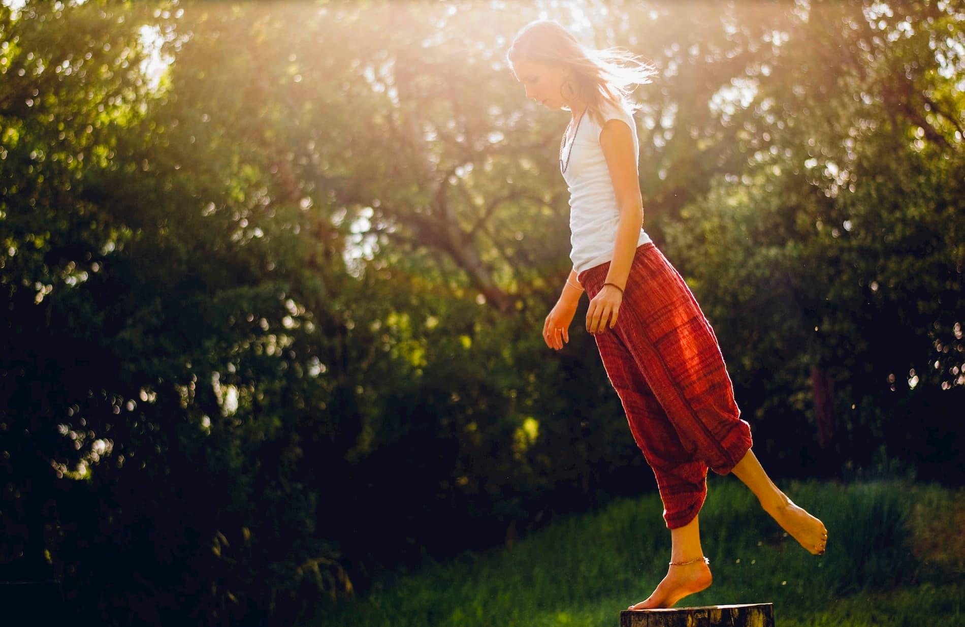 Innere Balance in turbulenten Zeiten finden.