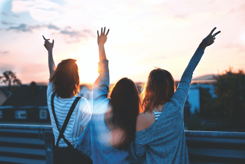 Leichter leben, entspannter, zufriedener, glücklicher